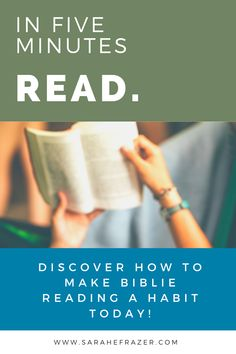 Discover how to grow in faith through a Bible reading habit. Discover how to nuture your spiritual growth by studying God's Word each day, even as a beginner. Come see how it's easier than you think! || Sarah E. Frazer Reading Habits, Study Habits, Connecting With God, Bible Study Tips, Spiritual Growth, Studying, Prayers, Spirituality, Faith