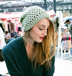 Willow Beanie by Claire Montgomerie, Inside Crochet issue 47 | Inside Crochet