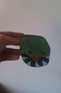 Activities for Kids: Crocodile Bookmark
