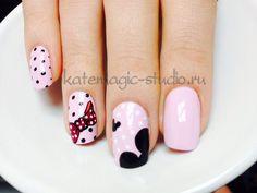 Ногти микки маус дизайн фото