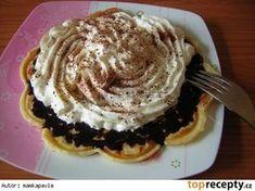 Výborné vláčné vafle Peanut Butter, Pancakes, Pie, Vegetarian, Breakfast, Food, Torte, Morning Coffee, Cake