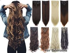 Hair Extensions - excellent variety. Have to take a look...