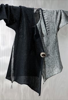 Sandra Miller, this asymmetrical cardigan is just gorgeous - want, want, want it!
