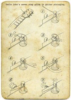 Como trocar cordas...                                                       …                                                                                                                                                                                 More