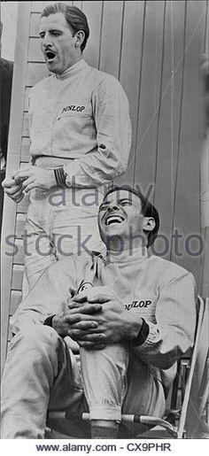 Graham Hill (dead November 1975) Racing Driver - Stock Image