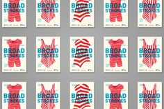 Broad Strokes on Behance