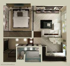 Решение для однокомнатной квартиры