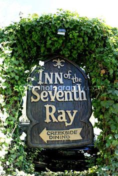 Inn of the Seventh Ray in Topanga Canyon. I will be in heaven if my date took me there for dinner. Love everything about this place!