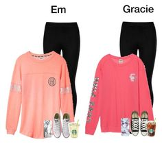 """""""At Starbucks with Em"""" by graciegirl2015 ❤ liked on Polyvore featuring Wolford, Victoria's Secret, Converse, Casetify and mysquadz"""