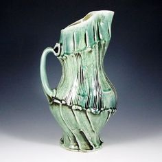 Eric Botbyl is a full time studio potter living and working in Humboldt, TN. He received his BA in Ceramics & Sculpture from Union University in 2001 and regularly attends workshops related to … Ceramic Pitcher, Pottery, Ceramics, Sculpture, Mugs, Ceramica, Ceramica, Pottery Marks, Tumbler