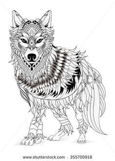 wolf mandala - Buscar con Google