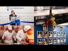 Official inauguration of Le Cordon Bleu Paris institute Le Cordon Bleu, Paris, Culinary Arts, Photo Wall, Baseball Cards, Cords, Fotografie