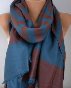 New Year's Fashion Scarf Valentine's Day Gift Winter by fatwoman