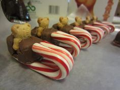 Mend's Experiences: Bear Candy Sleds #animal