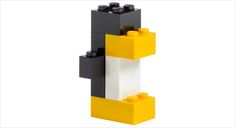 LEGO pinguïn Love the simplicity of it!