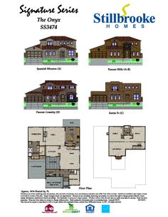 1000 images about stillbrooke homes floorplans on