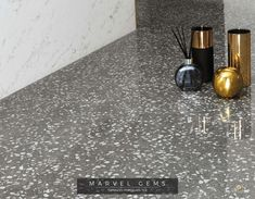 Marvel Gems Terrazzo porcelain tiles inspired by Venetian Terrazzo for modern architecture. Wall And Floor Tiles, Wall Tiles, Marvel Gems, Marble Rock, Italian Tiles, Terrazzo Flooring, Marble Effect, Concorde, Wall Lights