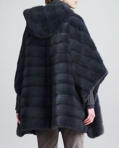 Loro Piana Mink Fur Cape