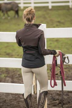 FITS Hawley Tri-Color Jacket| Brown / Graphite / Cordovan