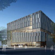 *보이드 도서관 [ Kokaistudios ] Tsinghua University Law Library :: 5osA: [오사]