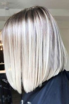 Ice Blonde Sleek Straight Hairstyles 2020 53 Platinum Blonde Hair Shades and Highlights for 2020 Of 98 Best Ice Blonde Sleek Straight Hairstyles 2020 Ice Blonde Hair, Platinum Blonde Hair Color, Blonde Hair Shades, Ombre Hair, Icy Blonde, Short Blonde, Lob Haircut, Lob Hairstyle, Hairstyles Haircuts