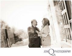 Urban engagement session ROB AND JESSICA::ENGAGED!!  { Grand Rapids Michigan Wedding Photographer }