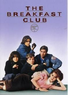 Breakfast Club, The Movie Poster Standup 4inx6in