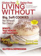 Living Without magazine website - gluten & dairy free.  Addresses other top 8 allergies.