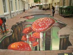 3D street art by Marion Ruthardt (48 pieces)