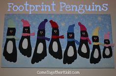 penguin footprints