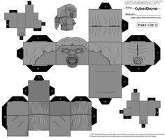 Cubee - Weeping Angel 2 by CyberDrone.deviantart.com on @deviantART  DON'T BLINK !