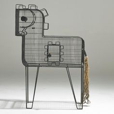 Pony Bird Cage by Frederic Weinberg USA Whimsical pony shaped bird cage by Frederic Weinberg. Bird Cages, Vintage Love, French Vintage, Bird Houses, Home Accessories, Mid-century Modern, Decoration, Old Things, Art Deco