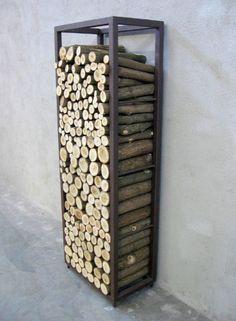 Wood storage blade x 4 for the home pinterest wood for Porta legna da esterno