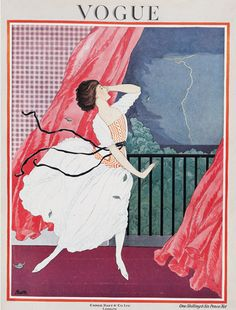 """June 1921 While the editor firmly assures readers that """"the cape continues its triumphant progress"""", she also urges them to invest in hats and dresses this June, in particular those made of handkerchief linen. """"A mode may be simple and yet not subdued,"""" she says."""