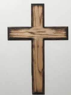 Items similar to Rustic Wood Cross on Etsy Wooden Crosses, Wall Crosses, Rustic Cross, Rustic Wood, Pallet Cross, Dremel Wood Carving, Cross Crafts, Small Wood Projects, Barn Wood Frames