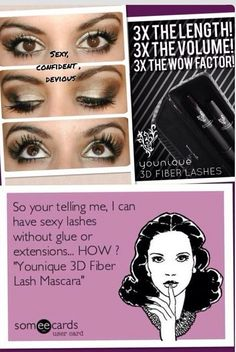 3d fiber lash mascara youniqueemjay@gmail.com https://www.youniqueproducts.com/emjayslittlepretties www.facebook.com/emjayslittlepretties