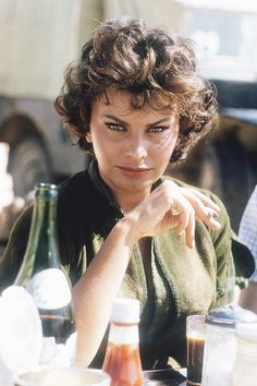 Sophia Loren, look at her eyes, they're gorgeous.