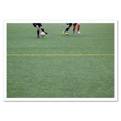 Fotokarte »Fussball« http://dickoepfig.ch/produkt/fotokarte-fussball/ #fussball #green #grün