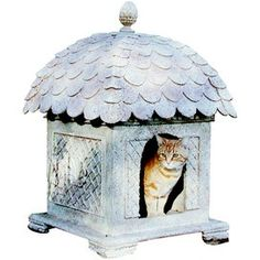Small Florence Pet House - A true throne of a House for your royal pet! How cute!