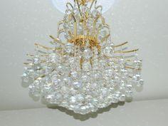 Swarovski Crystals on 24 carrat gold