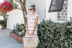 Merrick's Art Ruffle Neckline Summer Dress Tutorial