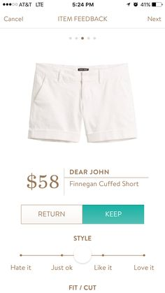 LOVE this style of short.  You guys sent me a pair last year and I bought 4 more!  Would love some in white!