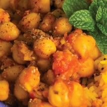 Chana Masala: One of my -fave- Indian dishes!