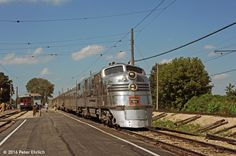 Alle Größen | ILLINOIS RAILWAY MUSEUM--Nebraska Zephyr lv East Union | Flickr - Fotosharing!