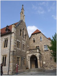 ERFURT (GERMANY): Martin Luther lived in the Augustinian Monastery in Erfurt as a monk from 1505 to 1511. The monastery complex houses an important library with rare books and a permanent exhibition about the life of Luther.