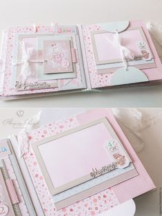 Mini Albums Scrap, Junk Journal, Baby Photos, Frame, Scrapbooking, Carton Box, Pictures, Picture Frame, Baby Pictures