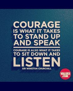 In life in business... Speak up shut up  #quote