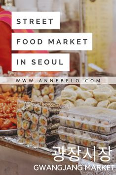 It is gaining more popularity nowadays among foreigners because of the wide array of Korean food choices and stalls inside. Easy Delicious Recipes, Tasty, Yummy Food, Popular Korean Food, Street Food Market, Tteokbokki, Traditional Market, Korean Street Food, Food Stall