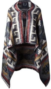 The Textile Rebels Navajo print cape on shopstyle.co.uk