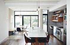 a renovated kitchen in brooklyn   source (via Bloglovin.com )